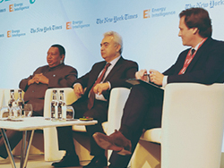 *Dr. Barkindo OPEC Secretary-General at the Oil Money conference in London.