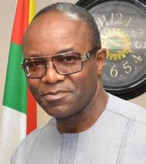 Dr. Emmanuel Ibe Kachikwu, Nigeria's minister of State for Petroleum.
