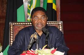 *President Ali Mohamed Shein of Zanzibar.