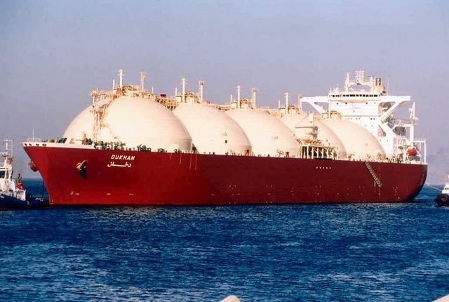 Spot LNG prices have nearly tripled since early November