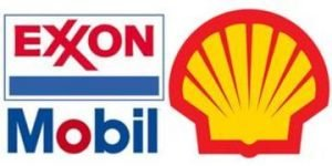 Shell leads cash race but Exxon catching up