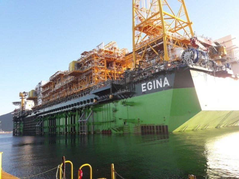 Egina comes on stream, adds 200,000b/d to Nigeria's production
