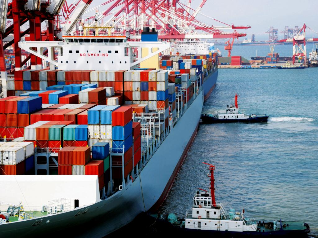 General cargo rises sharply, as wheat still leads in volume