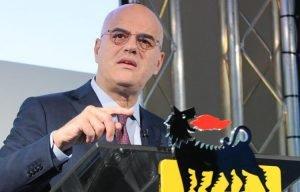 Eni CEO Claudio Descalzi