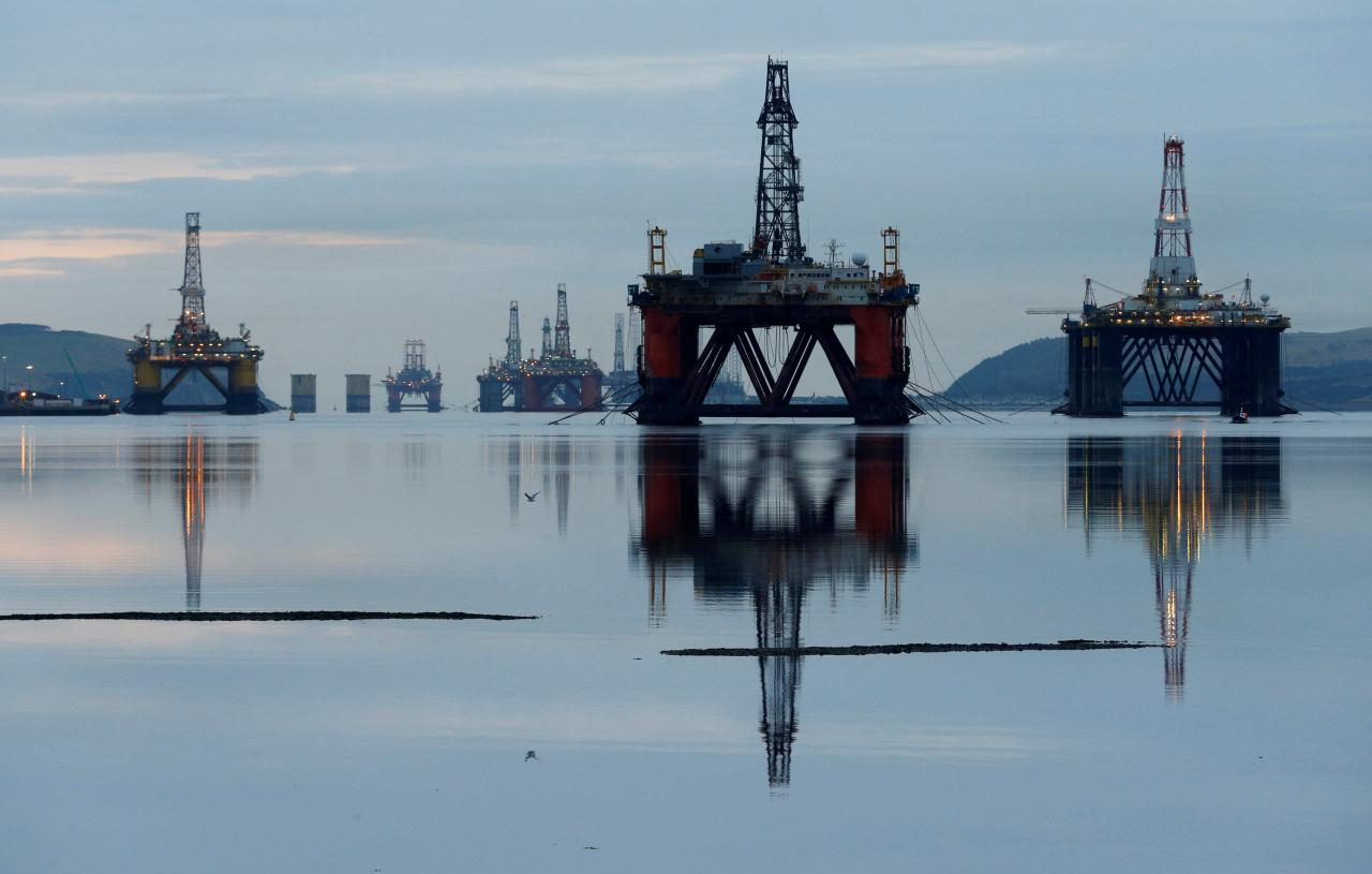 Climate activists challenge Britain's support of North Sea oil and gas producers