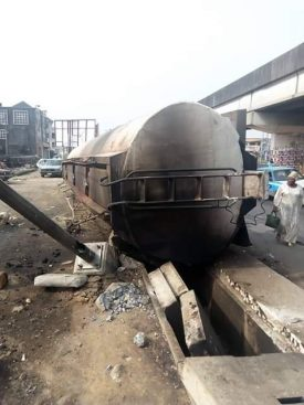 #ENDSARS: IPMAN says 10 petrol tankers torched in 4 states