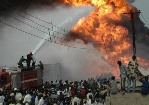 Nembe Creek trunk line fire put out