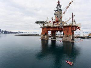 Environmental activists board Equinor rig set to drill in Arctic