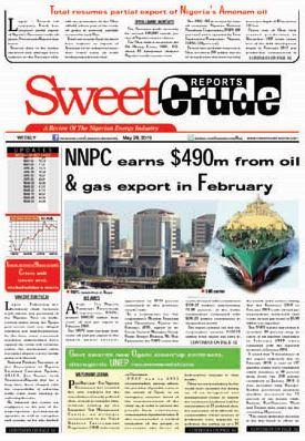Weekly SweetcrudeReports May 29, 2019