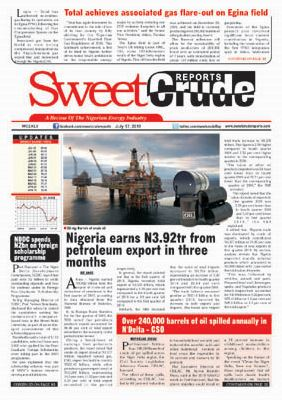 Nigeria earns N3.92tr from petroleum export in three months