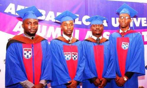 Presidential Amnesty beneficiaries bag first class degrees in ABUAD