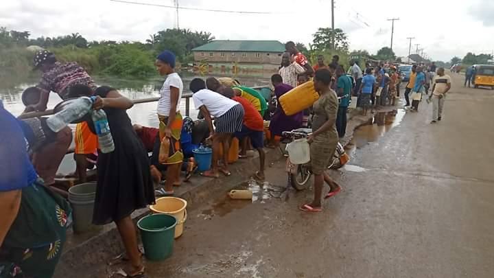 Oil spill from Nigeria Agip Oil Company facility rocks Rivers community