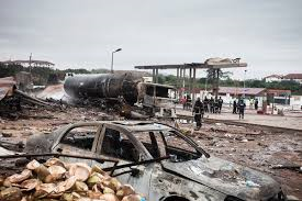 How petrol station auto accident claimed three lives in A/Ibom