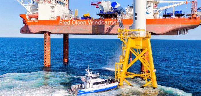 Offshore wind energy looms large