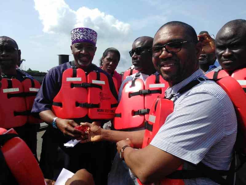 CSR: ExxonMobil donates ferry boats to Bonny kingdom