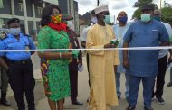 NPA commissions solar-powered street lights for Rivers community