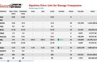 NSE: Double One lifts energy companies trading