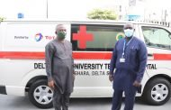 TUPNI, partners donate ambulances to DELSUTH