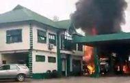 Fire razes petrol tanker, filling station in Port Harcourt