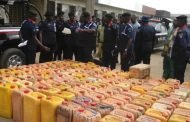 Oil theft: NSCDC impounds 119 gallons of adulterated AGO