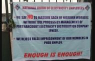 Again, electricity workers barricade PHEDC over severance package