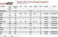NSE: Ardova gains, JapaulGold suffers loss