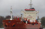 MV Sea Phantom boarded 115nm off the coast of Kribi