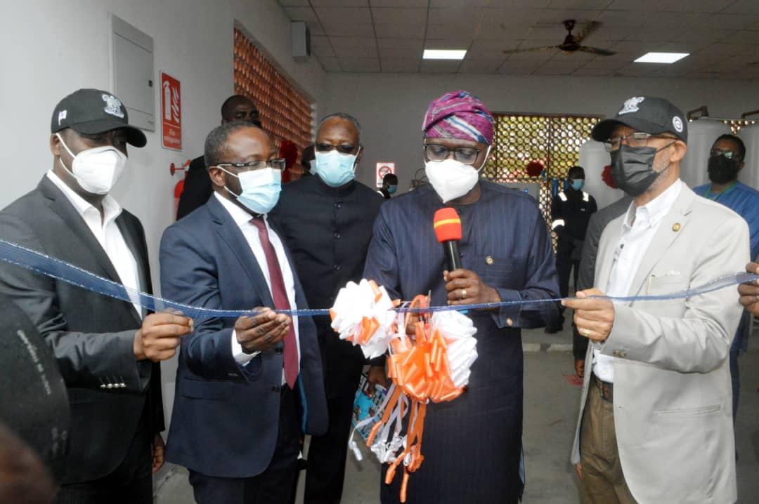 Gov Sanwo-Olu commissions Medical Oxygen Plant at Gbagada -  SweetCrudeReports