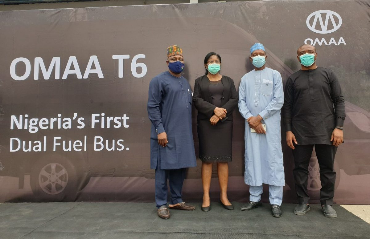 Firm unveils first gas-powered buses in Nigeria - SweetCrudeReports