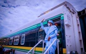 $1.5bn Lagos-Ibadan Rail Line will create wealth — Buhari