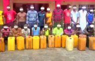 EFCC nabs 27 suspected oil thieves in Rivers